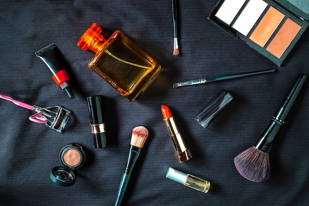Cosmetica voor vrouwen Premium Foto
