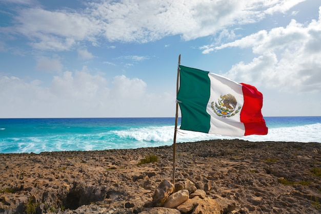 Cozumel eiland el mirador strand in mexico Premium Foto