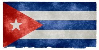 Cuba grunge vlag Gratis Foto