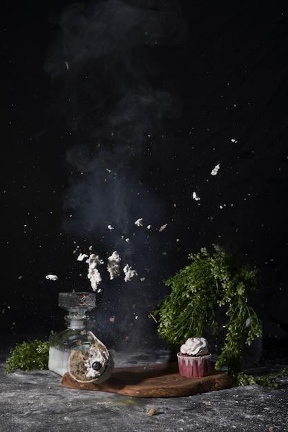 Cupcake-explosie Gratis Foto