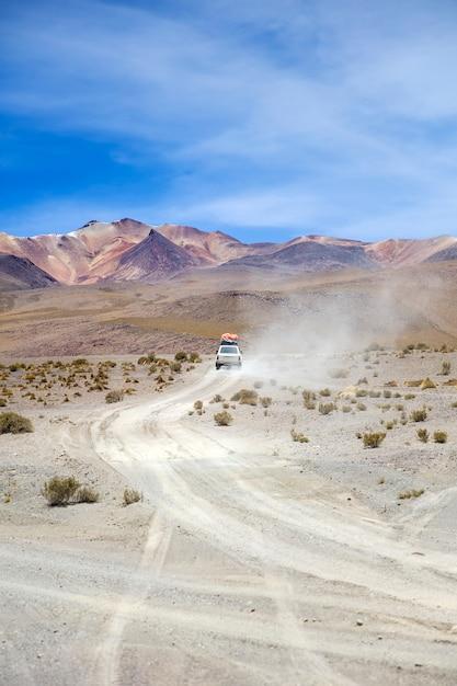 Dali-woestijn in bolivia Premium Foto