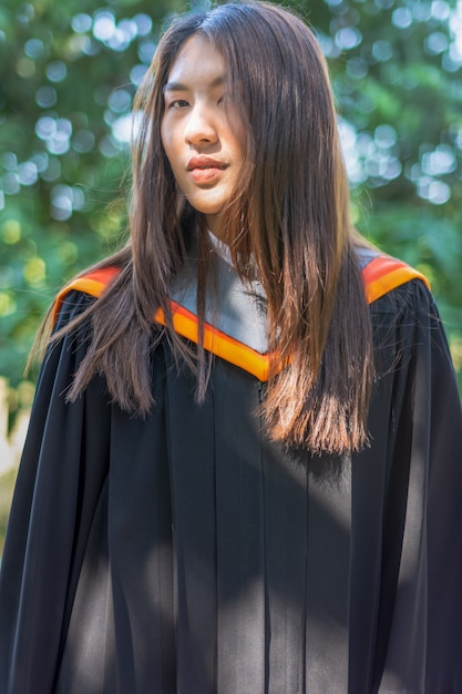 Dames diploma jurk Premium Foto