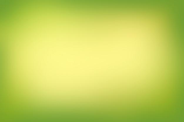De abstracte onscherpe achtergrond van gradiënt groene kleuren Premium Foto
