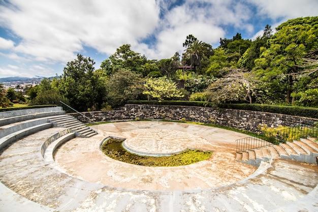 De beroemde botanische tuin in funchal, het eiland madeira, portugal Gratis Foto