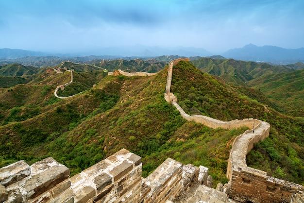 De chinese muur. Premium Foto