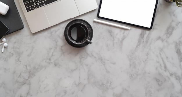 De creatieve werkplek van professionele fotografen Premium Foto
