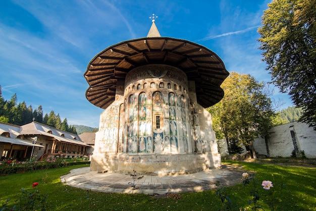 De kerk van sucevita-klooster in bucovina roemenië Gratis Foto