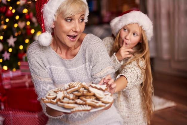 De laatste koekjes voor mij Gratis Foto