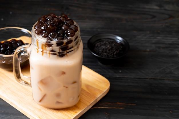De melkthee van taiwan met bel Premium Foto