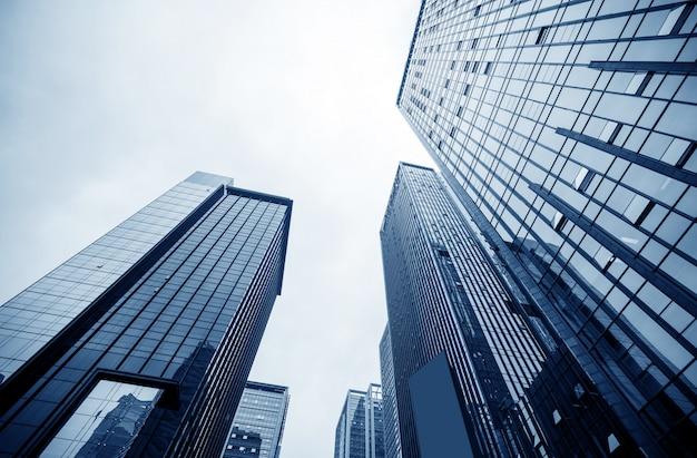 De moderne gebouwen van chongqing Premium Foto