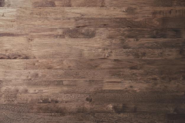 De mooie natuurlijke bruine houten achtergrond van de paneeltextuur Premium Foto