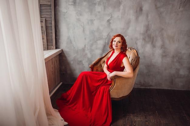 kleding rood haar