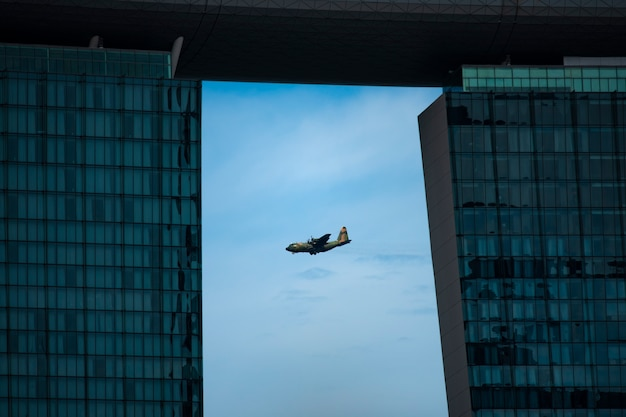 De republic of singapore air force (rsaf) is de lucht van de strijdkrachten van singapore Premium Foto