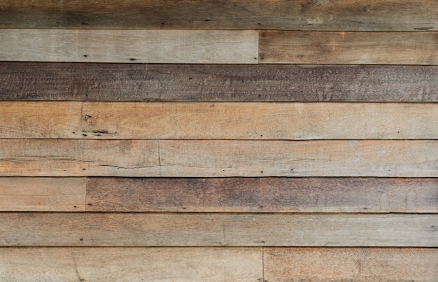 De ruwe houten achtergrond van de muurtextuur Premium Foto