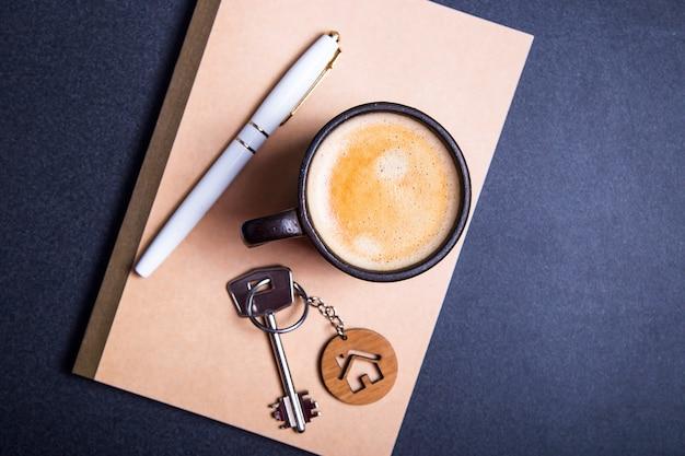 De sleutels van het nieuwe appartement Premium Foto