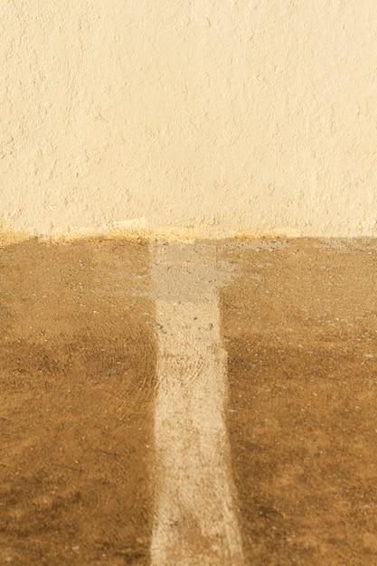 De verticale abstracte achtergrond van de cementweg Gratis Foto