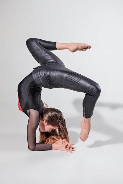 De vrouw danst Gratis Foto