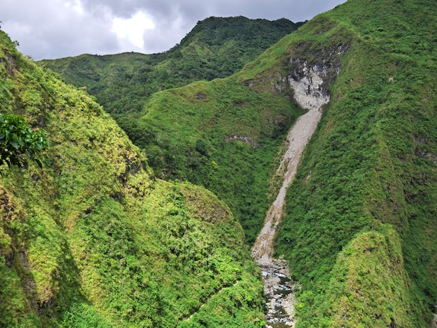 De waterval in banaue, filippijnen Premium Foto