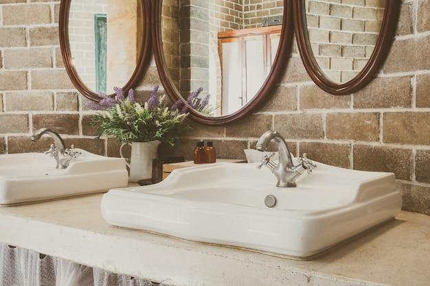Decoratie luxe huis interieur vintage foto gratis download