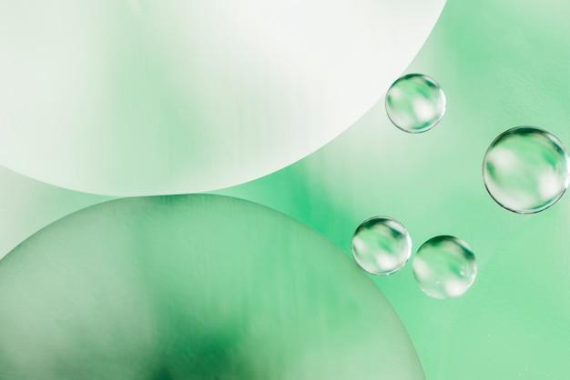 Decoratieve olie bubbels achtergrond Gratis Foto