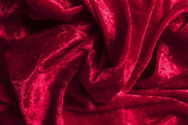 Decoratieve stoffen van rode stof binnenshuis Gratis Foto