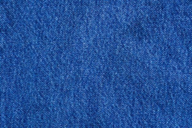 Denim blue jeans textuur close-up achtergrond bovenaanzicht Premium Foto