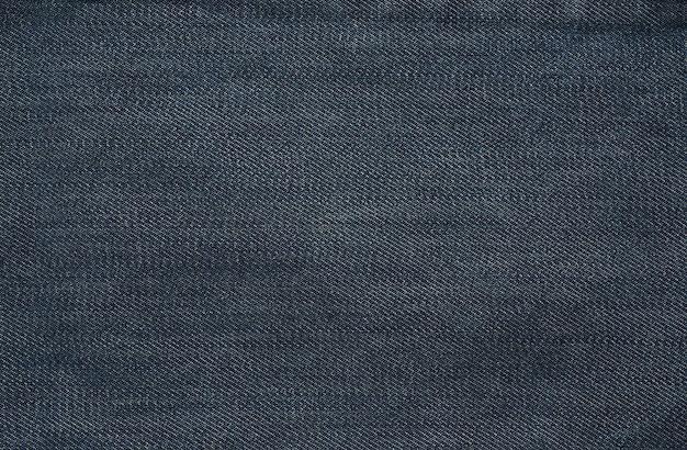 Denim stof textuur close-up Premium Foto