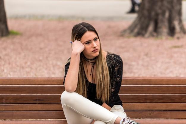 Depressie bij vrouwen Premium Foto