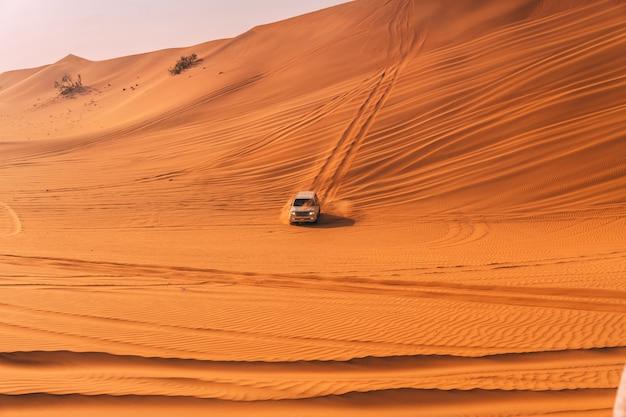 Desert dune bashing Premium Foto