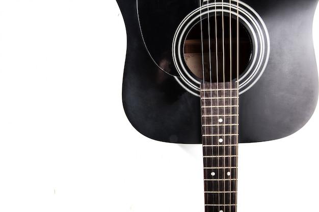Detail van klassieke gitaar Premium Foto