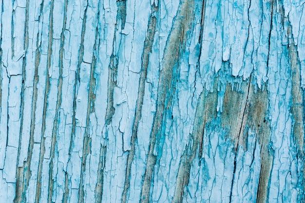 Details van blauwe textuur van houten planken Premium Foto