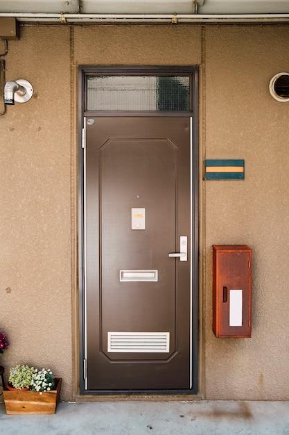 Deur naar appartement japanse stijl Gratis Foto