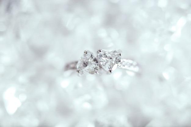 Diamanten ring Gratis Foto