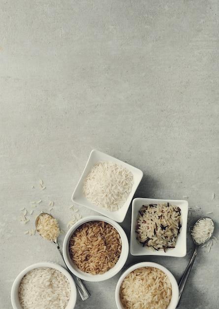 Diverse soorten rijst Gratis Foto