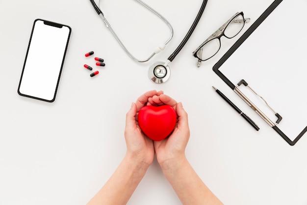 Doctor miniatuur hart Gratis Foto