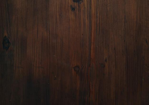 Donkere houten textuur oppervlak Gratis Foto