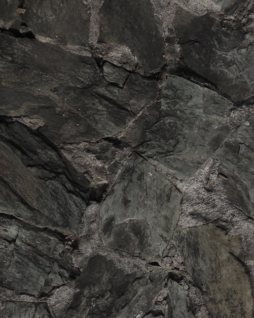 Donkere steen geweven achtergrond Premium Foto