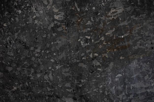 Donkere zwarte zink plaat gestructureerde achtergrond Premium Foto