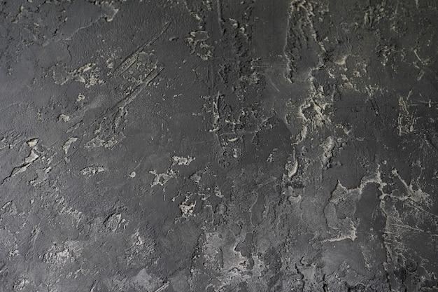Donkergrijze zwarte leiachtergrond Premium Foto