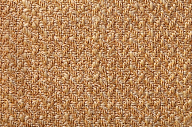 Donkeroranje rieten textiel Premium Foto