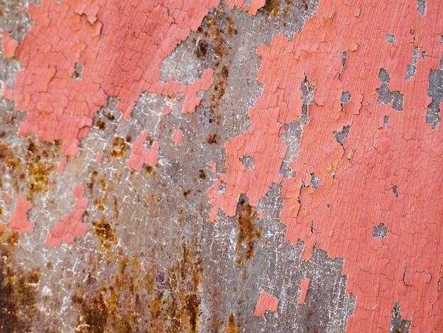 Doorstane gepelde verf geweven achtergrond Gratis Foto
