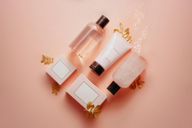 Douchegel, vaste zeep, badzout Premium Foto
