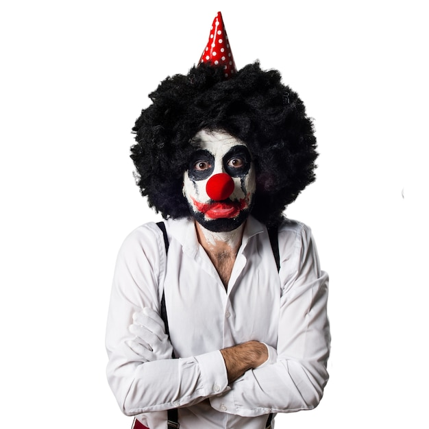 Droevige moordenaar clown Gratis Foto