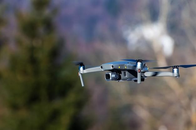 Drone quadcopter met digitale camera Premium Foto