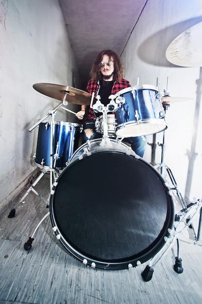 Drums conceptueel beeld. Gratis Foto