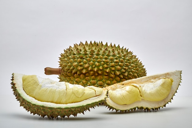 Durian staat bekend als king of friut in thailand Premium Foto
