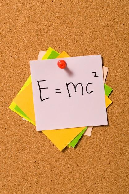E = mc2 Premium Foto