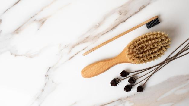 Eco-reinigingsproducten voor huidverzorging Gratis Foto