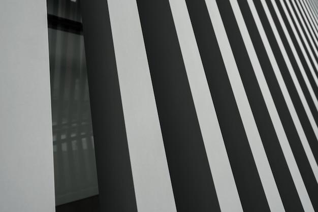Een metalen achtergrond met grijze strepen Premium Foto
