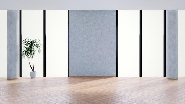 Een modern commercieel kantoorruimte-interieur Premium Foto